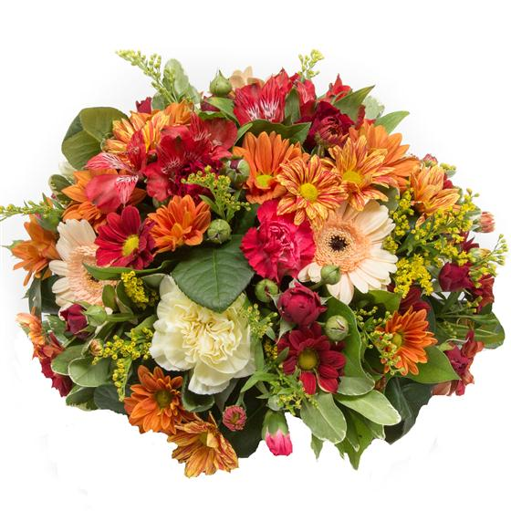 Autumnal Posy Arrangement